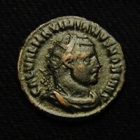 GALERIUS  POST REFORM RADIATE RV CONCORDIA MILITVM 3.23 GRAMS 20MM CYZICUS