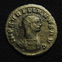 BILLON ANTONINIANUS EMPEROR AURELIAN RV ORIENS AVG 3.44 GR 21 2MM AD 274 SERDICA