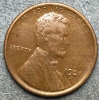 1921 S EXTRA FINE  EF EXTRA FINE BN LINCOLN WHEAT CENT PENNY. L508  FREE SHIP