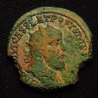 GALLO ROMAN IMPERIAL AE DOUBLE SESTERTIUS POSTUMUS 16.30 GRAMS COLOGNE AD 261