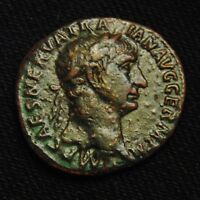 AS EMPEROR TRAJAN RV VICTORY SHIELD SPQR 8.69 GRAMS 25 7MMROME MINT100 AD