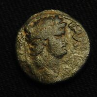 20 SEMIS ANTIOCH SYRIA EMPEROR NERO RV LARGE SC IN WREATH 6.50 GRAMS AD 64 8