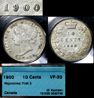 XMAS   10 CENT VARIETY   1900 REPUNCHED FIRST 0   LY RR  A111