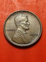 1909  LINCOLN WHEAT CENT-  AU