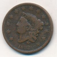 1833 CORONET HEAD LARGE CENT-  CIRCULATED CENT-SHIPS FREE