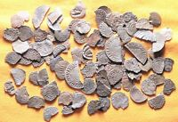 LOT OF 100 MEDIEVAL SILVER COINS 12 19. CENTURY
