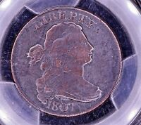 1807 DRAPED BUST 1C LARGE FRACTION >> BEAUTY PCGS VF DETAILS >>> SEE OUR STORE