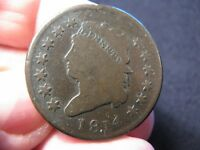 1814 CLASSIC HEAD LARGE CENT V.G. DETAILS  S-295 SHIPS FREE