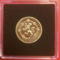 1999   1 ONE POUND PROOF COIN RAMPANT LION VERY RARE NEVER C