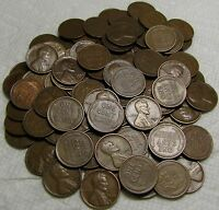 2 ROLLS OF 1928 S SAN FRANCISCO LINCOLN WHEAT CENTS FROM PEN