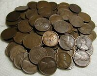 2 ROLLS OF 1918 D DENVER LINCOLN WHEAT CENTS FROM PENNY COLL