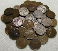 1 ROLL OF 1932 D DENVER LINCOLN WHEAT CENTS FROM PENNY COLLE