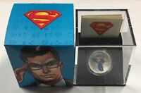 CANADA 2013 $15 MODERN DAY SUPERMAN SILVER COLOURED COIN