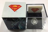 CANADA: 2013 $10 VINTAGE SUPERMAN 1/4 OZ SILVER COIN