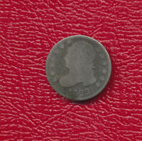 1823 CAPPED BUST SILVER DIME  CIRCULATED EARLY U.S. DIME SHIPS FREE