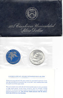 1974 S EISENHOWER UNCIRCULATED SILVER DOLLAR BLUE PK
