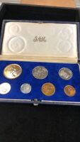 1968 SOUTH AFRICA 7 PIECE PROOF SET   INCLUDES RARE 1 RAND S