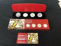 AUSTRALIA 2013 YEAR OF THE SNAKE COIN SET WITH  4  SILVER 1O