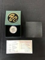 BRITISH VIRGIN ISLANDS $10 2013 YEAR OF THE SNAKE 1OZ. SILVE