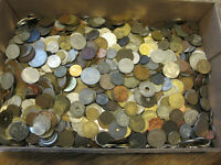 OVER 16 POUNDS OF COINS FROM AROUND THE WORLD MANY DIFFERENT