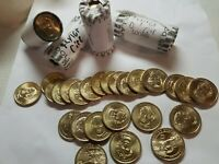 CIRCULATED ZACHARY TAYLOR PRESIDENTIAL DOLLAR COIN ROLL $25 2009 D MINT