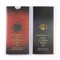 2000 ROYAL AUSTRALIAN MINT $1 FIRST VICTORIA CROSS CARDED CO