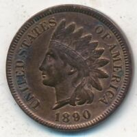 1890 INDIAN HEAD CENT-