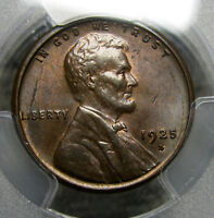 1925-S LINCOLN CENT --- PCGS MINT STATE 63 SLABBED GRADED --- 195