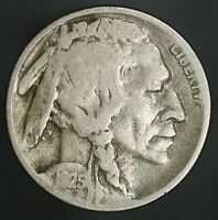 1925-D BUFFALO NICKEL 2 FEATHER VARIETY SUPER  DATE FOR THIS ERROR GC535