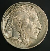 1913-P BUFFALO NICKEL 5C TYPE 1 NEW GEM UNC WITH GREAT EYE APPEAL GC426
