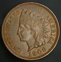 1906 INDIAN HEAD CENT  VINTAGE PENNY GC060