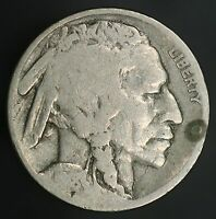1918-P BUFFALO NICKEL 2 1/2 FEATHER VARIETY TOUGH TO FIND ERROR COIN GC529