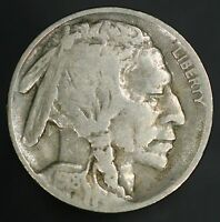 1918-D BUFFALO NICKEL STRONG F-VF WITH ALL ORIGINAL SURFACES GC423