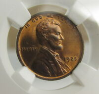 1925 LINCOLN CENT NGC MINT STATE 64RB