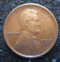1910 S LINCOLN CENT CIRCULATED