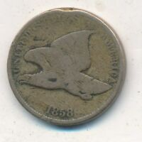 1858 FLYING EAGLE CENT-SMALL LETTERS- CIRCULATED CENT-SHIPS FREE INV:6