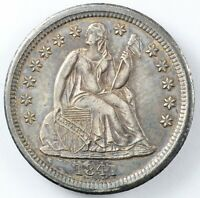 1841 LIBERTY SEATED SILVER DIME 10C