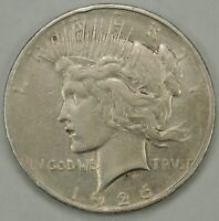 1926-D $1 PEACE SILVER DOLLAR VAM-1E   R6 - AS PICTURED -  112518