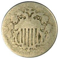 1876 SHIELD NICKEL  READABLE DATE  PRICED RIGHT