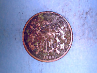 1869 2 CENT PIECE IN  GOOD CONDITION   5/12