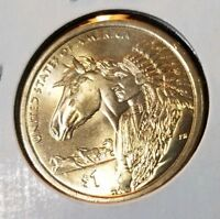2012-D SACAGAWEA NATIVE AMERICAN DOLLAR - UNCIRCULATED FROM US MINT ROLLS