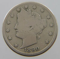 UNITED STATES NICKEL 1890  PL 071