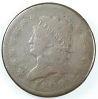 1808 CLASSIC HEAD LARGE CENT COIN 1C