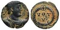 JOVIAN VOT V FROM ALEXANDRIA WITH CROSS IN BADGE