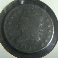 1828 1/2C CLASSIC HEAD 13 STARS HALF CENT TYPE COIN CIRCULATED