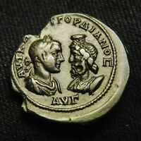 30 MARKIANOPOLIS EMPEROR GORDIAN III & SERAPIS RV SERAPIS 14.52 GRAMS 29 30MM