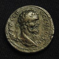 ROMAN PROVINCIAL 27 SEPTIMIUS SEVERUS RV NIKE WITH WREATH & PALM 12.43 GRAMS