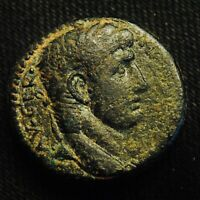 27 ANTIOCH SYRIA EMPEROR CLAUDIUS RV S C IN WREATH 15.66 GRAMS 26 7MM  AD 42 54