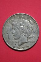 1934 D VAM 3 R4 DOUBLED OBVERSE PEACE SILVER DOLLAR MAKE OFFER OCE 360
