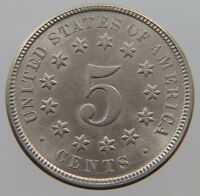 UNITED STATES NICKEL 1872 TOP   T32 019
